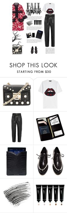 """""""Untitled #2741"""" by amimcqueen ❤ liked on Polyvore featuring SALAR, Markus Lupfer, Petar Petrov, Marc Jacobs, Royce Leather, Driftwood, Simone Rocha, Bobbi Brown Cosmetics and Samsung"""