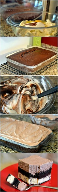 Chocolate Italian Love Cake – this cake is so amazing! It's crazy how the layers are made!