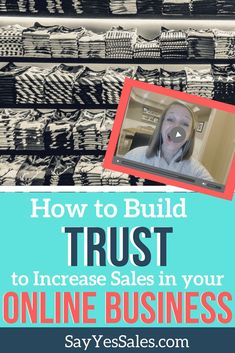 How to Build Trust in your Online Business to Increase Sales! Learn how the secret to more sales is gaining your audience's trust through consistency BEFORE you ask for the sale. #sales #onlinebusiness