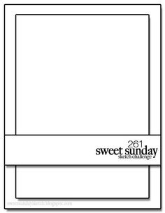 Inking Aloud: Sweet Sunday Sketch Challenge 261-You're Brilliant