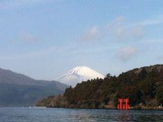 芦ノ湖 (Lake Ashinoko) in 神奈川県