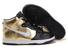Man Nike Dunk SB High  Black-Yellow  317892 711
