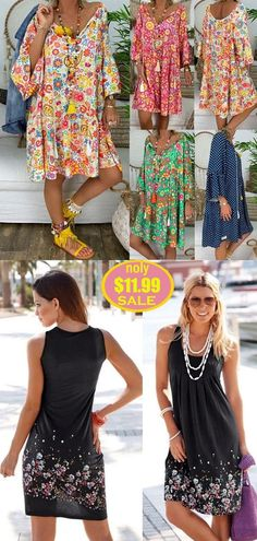 Boho Outfits, Pretty Outfits, Dress Outfits, Casual Outfits, Summer Outfits, Fashion Outfits, Summer Skirts, Summer Dresses, Cute Hairstyles For Summer