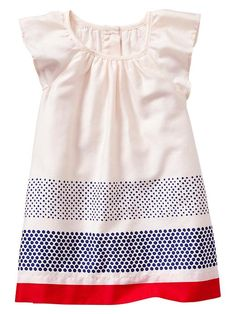 Paddington Bear For Babygap Ruffle Sleeve Dress