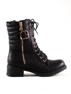ΑΡΒΙΛΑ ΨΙΛΗ ΜΑΥΡΗ Combat Boots, Boutique, Shoes, Fashion, Women's Booties, Moda, Zapatos, Shoes Outlet, Fashion Styles
