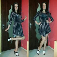 Lavinia Florea dots dress