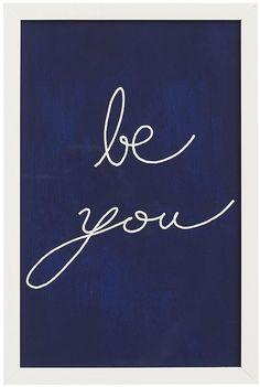 Be You Framed Print