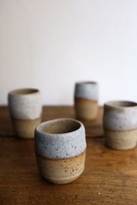 Image of Expresso/sake cups by Koen Ghesquière