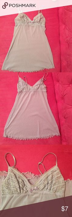 Victoria's Secret. Sz S. Victoria's Secret. Sz S.  Built in bra. Adjustable straps. No rips/stains/tears. Smoke/pet free home. Victoria's Secret Intimates & Sleepwear Chemises & Slips