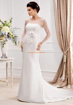 Günstige Aparte Hochzeitskleider aus Satin