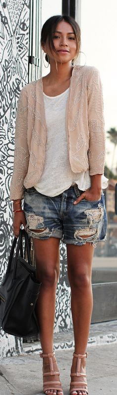Street Style - Okay this is slightly different and looks a little more relaxed.