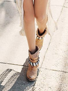 these are my new boot obsession - i have to have them Free People Jupiters Darling Ankle Boot