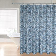 Regal Home Maya Printed Shower Curtain