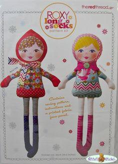Rag Doll Pattern Kits - by Mignon on Craftumi