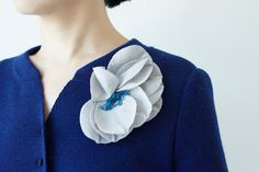 corsage from mina perhonen... bold color