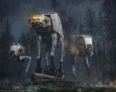 Star Wars: AT-AT and AT-ST by Ben Zweifel