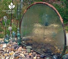 Backyard Water Feature Ideas : Diy Water Features For The Garden. Diy water features for the garden. Garden Crafts, Garden Projects, Garden Art, Garden Ideas, Garden Junk, Garden Table, Herb Garden, Backyard Ideas, Garden Ponds