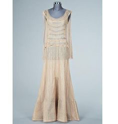Chanel lace evening gown, early 1930s, unlabelled, £1000-1500