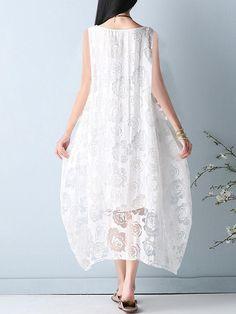 44ace5de16 Elegant Women Sleeveless Lace Long Maxi Dress Dress P, Dress Outfits, Suits  You,