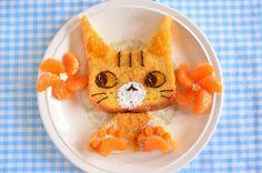 猫フレンチトースト~マーマレードキャット~|かわいいと猫がいっぱい♪ Lauraのスイーツ&ハンドメイド