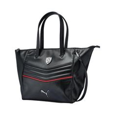 The stylish Ferrari LS Handbag has a two way zip main compartment and  special… Fabric 2e5e255920