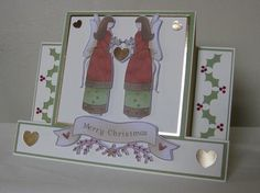 Angels Above Us Centre Panel Card Studio File Commercial Use on Craftsuprint - View Now!
