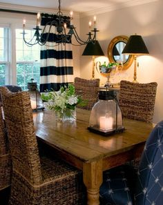 Nantucket, Ma. - traditional - dining room - other metro - by Beach Glass Interior Designs
