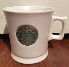 Starbucks 2014 Anniversary Mermaid Siren Copper Medallion 14 oz Mug   eBay