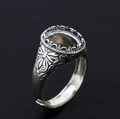 Antique silver ring tree dating