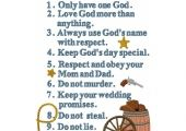 Cowboy Commandments <3 want this for Denim's room