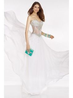 A-Line/Princess Sweetheart Sleeveless Beading Chiffon Floor-Length Dresses