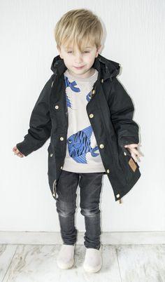 by M for Magazine Look 4: Black Mini Rodini Pico Jacket from Orange Mayonaise |  Photography and styling – Isabel