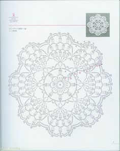 Symbol Crotchet Patterns: Doily patterns