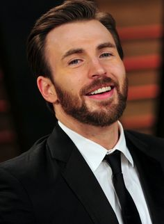Chris Evans. Hello, Captain America.