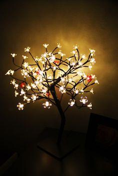 cherry blossom lamp .. pero q lindooo xD