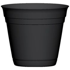 15, Garden Treasures 16.75-in H x 20-in W x 20-in D Black Indoor/Outdoor Planter
