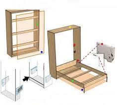 Resultado de imagen para mechanism of murphy bed plans free