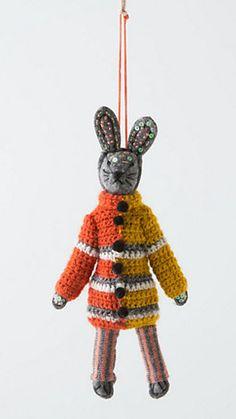 Anthropologie. Helsinki Bunny. #rabbit
