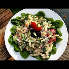 A Creamy Summer Pasta Salad with Philly Cooking Cream! | Basilmomma