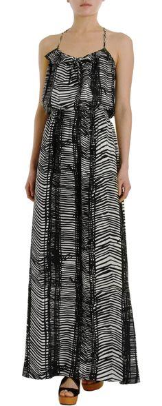 Parker Brushstroke Print Cami Dress