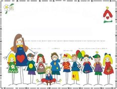 NENES Y MÁS - Judy B - Picasa Web Albums Free Frames, Borders And Frames, Orla Infantil, Boarder Designs, Spanish Teaching Resources, Teaching Tips, School Murals, School Images, Blooms Taxonomy