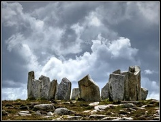 Stone circle, Co. Mayo, Ireland by Pierre Lapointe