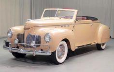 1940 DeSoto Custom Convertible Coupe