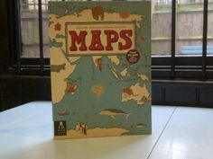 On the 10th day of advent Leaf recommends to you: Maps by Aleksandra Mizielinska & Daniel Mizielinski. This gloriously illustrated book of maps showcases not only countries & their geographical borders but also national icons, local wildlife & cultural phenomena. The illustration is so rich and diverse that I would have absolutely no qualms about recommending it to anyone of any age. It is no wonder it has been championed by the likes of the Tate organisation for its artistry. Ages: All