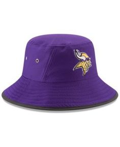 9f1fe6ed3 New Era Minnesota Vikings Training Bucket Hat - Purple Adjustable  https   www.