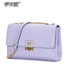 Buy 'Emini House – Genuine Leather Shoulder Bag' with Free International Shipping at YesStyle.com. Browse and shop for thousands of Asian fashion items from China and more!