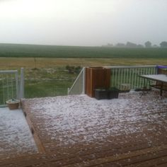 Hail on friday the 22nd