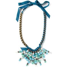LANVIN beaded necklace ($1,410) found on Polyvore