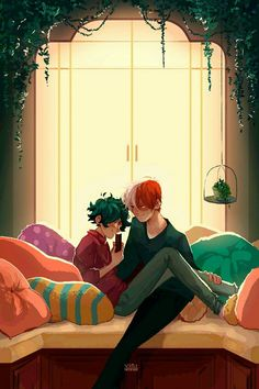Image about my hero academia in Tododeku Infinite💚🧡 by Gene My Hero Academia Shouto, Hero Academia Characters, Cute Gay, Fanarts Anime, Manga Anime, Cool Animes, Deku Anime, Lgbt Anime, Animes Wallpapers