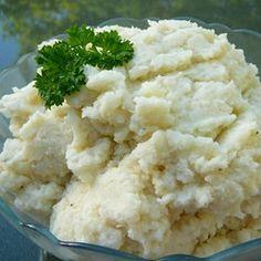 Smashed Cauliflower Side Dish